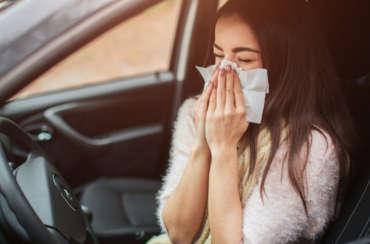 Primavera y alergias ¡Cuidado al volante!