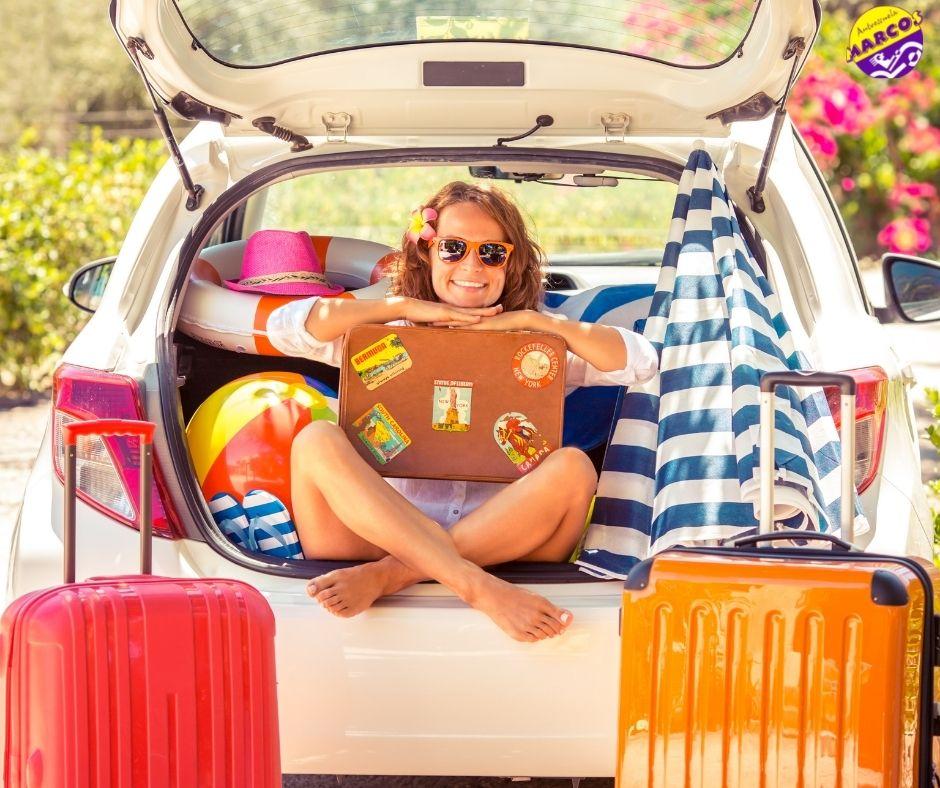 Viajar en verano - Autoescuela Marcos - Autoescuela en Gandia - consejos